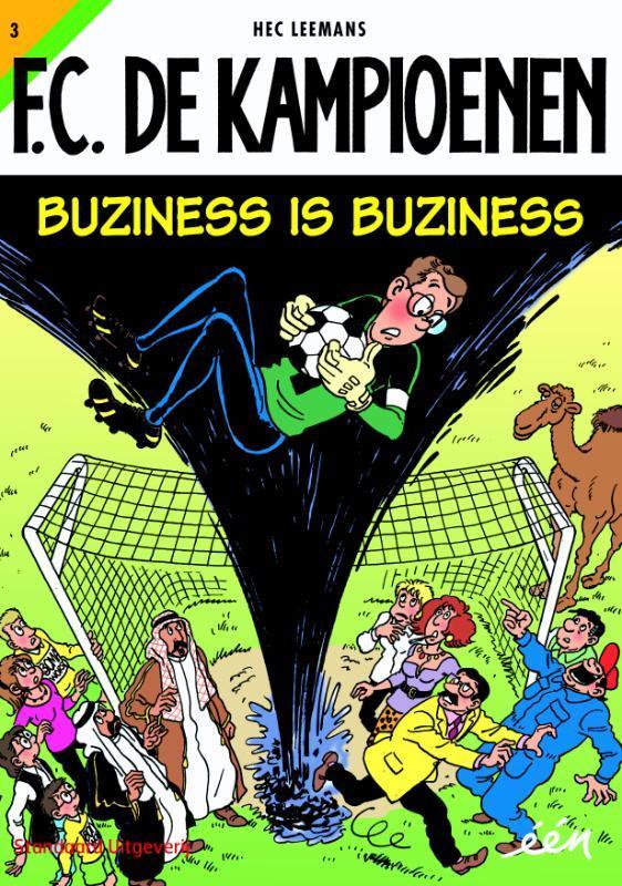 Buziness is buziness KAMPIOENEN, Leemans, Hec, Paperback