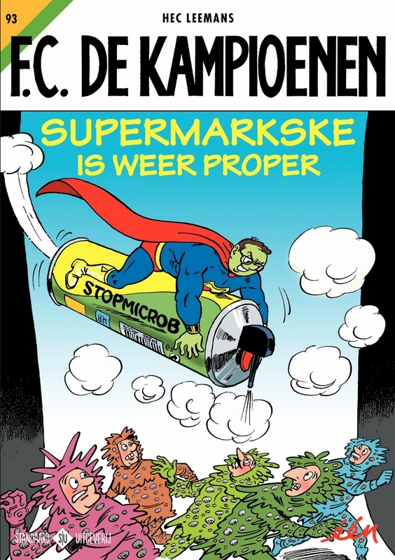 Supermarkske is weer proper KAMPIOENEN, Leemans, Hec, Paperback
