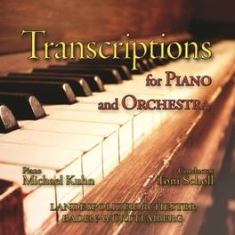 TRANSCRIPTIONS FOR PIANO LANDESPOLIZEIORCHESTER BADEN-WURTTEMBERG MICHAEL KUHN, CD