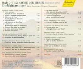 HAB OFT IM KRIESE DER.. DIE MEISTERSINGER/BREUNINGER Audio CD, DIE MEISTERSINGER, CD