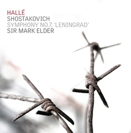 SYMPHONY NO.7 LENINGRAD HALLE ORCHESTRA/MARK ELDER D. SHOSTAKOVICH, CD