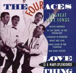 20 GREAT LOVE SONGS Audio CD, FOUR ACES, CD