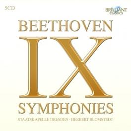IX SYMPHONIES STAATSKAPELLE DRESDEN/HERBERT BLOMSTEDT L. VAN BEETHOVEN, CD