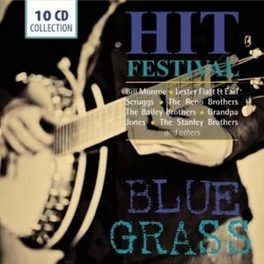 BLUE GRASS - HIT FESTIVAL W/BILL MONROE/RENO BROTHERS/BAILEY BROTHERS/BLUE SKY BO V/A, CD