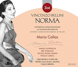 NORMA MARIA CALLAS V. BELLINI, CD