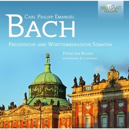 PREUSSISCHE UND WURTTEMBE PIETER-JAN BELDER C.P.E. BACH, CD