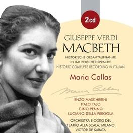 MABETH MARIA CALLAS G. VERDI, CD