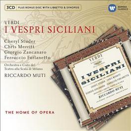 I VESPRI SICILIANI RICCARDO MUTI G. VERDI, CD