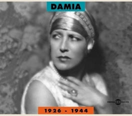 DAMIA 1926-1944 36 FRENCH CHANSONS, 32 PAGE BOOKLTET DAMIA, CD
