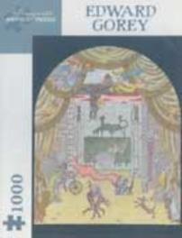 Edward Gorey Puzzle 02 Theater 1,000 Piece Puzzle, GOREY, Paperback