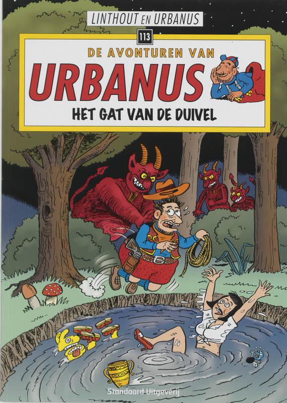 URBANUS 113. HET GAT VAN DE DUIVEL De avonturen van Urbanus, Urbanus, Paperback