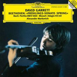 FRUHLINGS-SONATE SPRING PARTITA BWV 1004/ADAGIO KV261 // ALEXANDER MARKOVICH Sonate für Klavier und Violine Nr. 5 F-dur op.24 / Partita für Violine solo Nr. 2 d-moll BWV 1004, DAVID GARRETT, CD