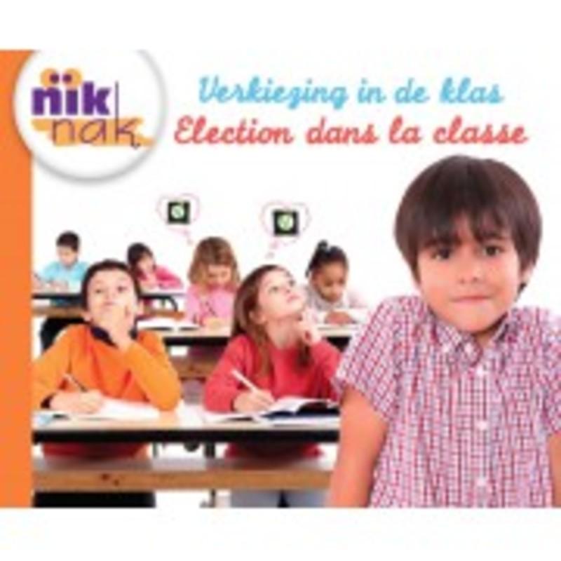 Verkiezing in de klas [Nederlands-Franse versie]. Nederlands-Frans, Sterkens, Christine, onb.uitv.
