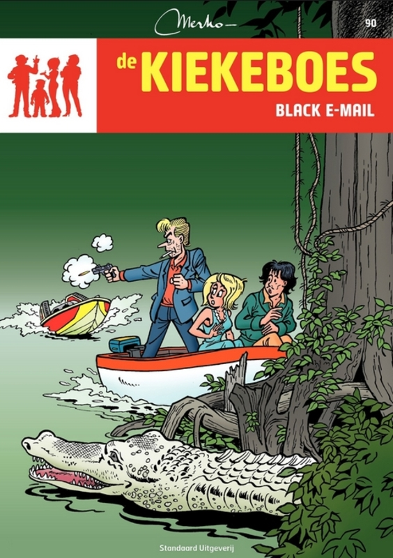 Black e-mail KIEKEBOES DE, Merho, Paperback