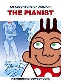 Janjaap 1 Labyrint - De pianist Een avontuur van Janjaap, Vriends, Jan, Hardcover