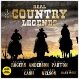 REAL COUNTRY LEGENDS V/A, CD
