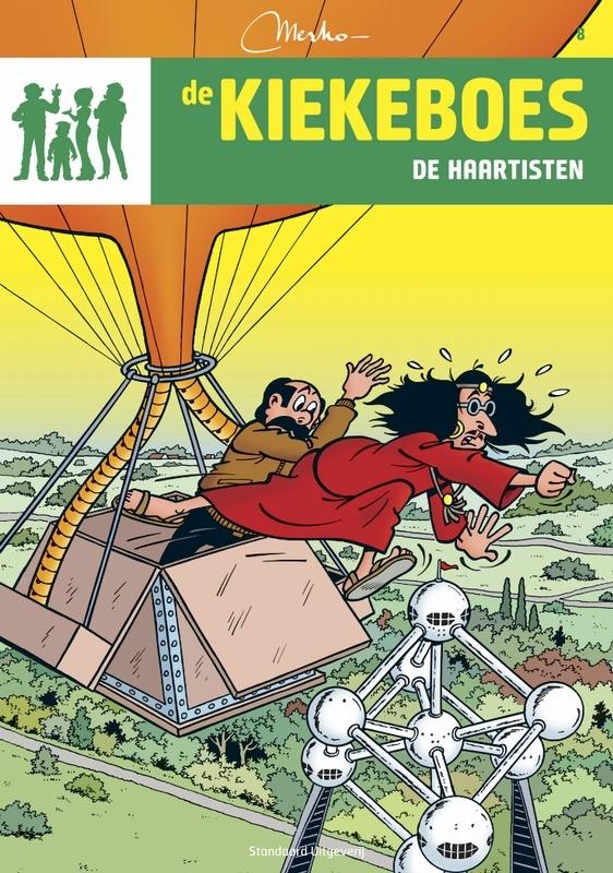 De Haartisten De Kiekeboes, Merho, Paperback