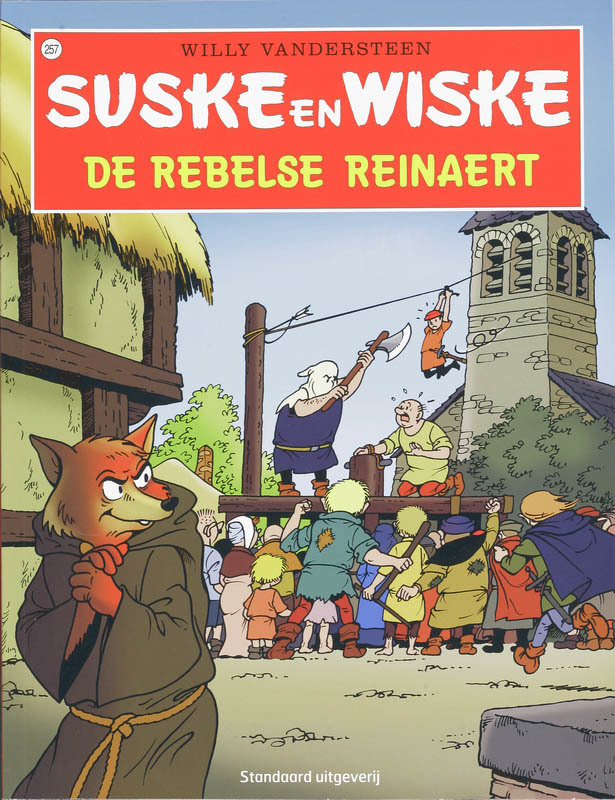 De Rebelse Reinaert Suske en Wiske, Vandersteen, Willy, Paperback