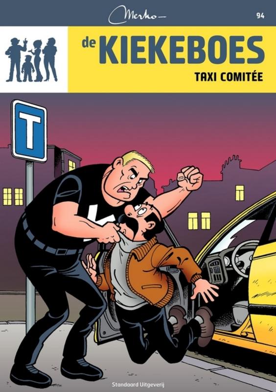Taxi comitee KIEKEBOES DE, Merho, Paperback