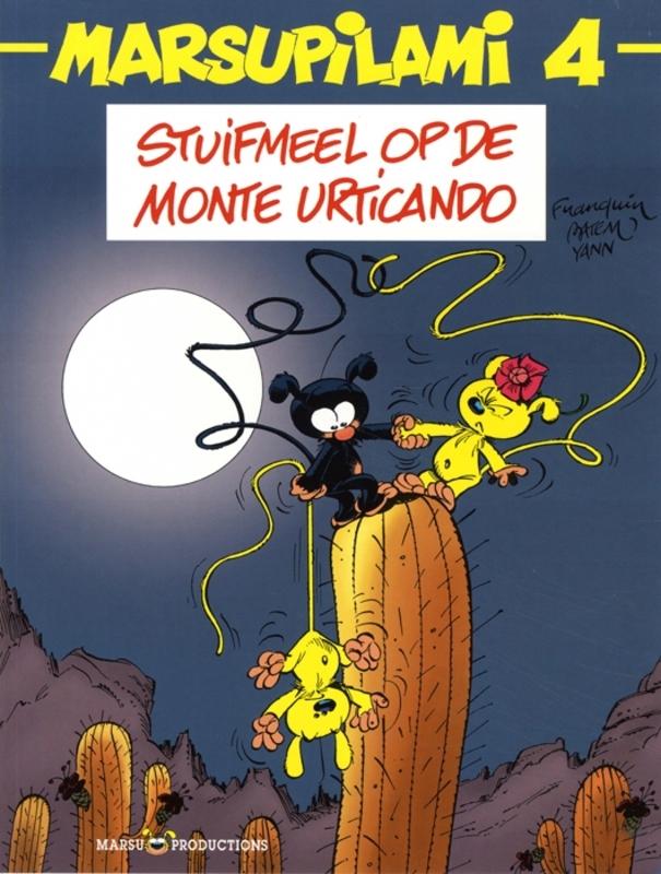 MARSUPILAMI 04. STUIFMEEL OP DE MONTE URTICANDO MARSUPILAMI, BATEM, YANN, Paperback