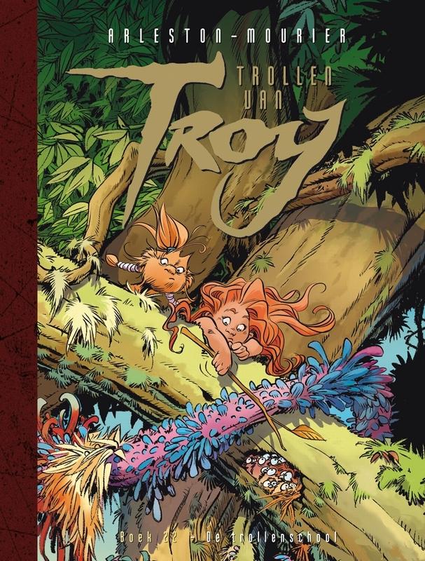 Trollen van Troy SC 22 De trollenschool Arleston, Hardcover