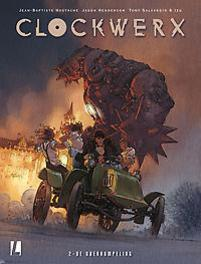 De overrompeling CLOCKWORX, Tony Salvaggio, Hardcover