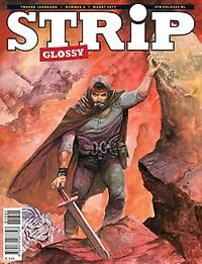 StripGlossy 4: tweede jrg nr. 4 maart 2017 Willem Ritstier, Paperback