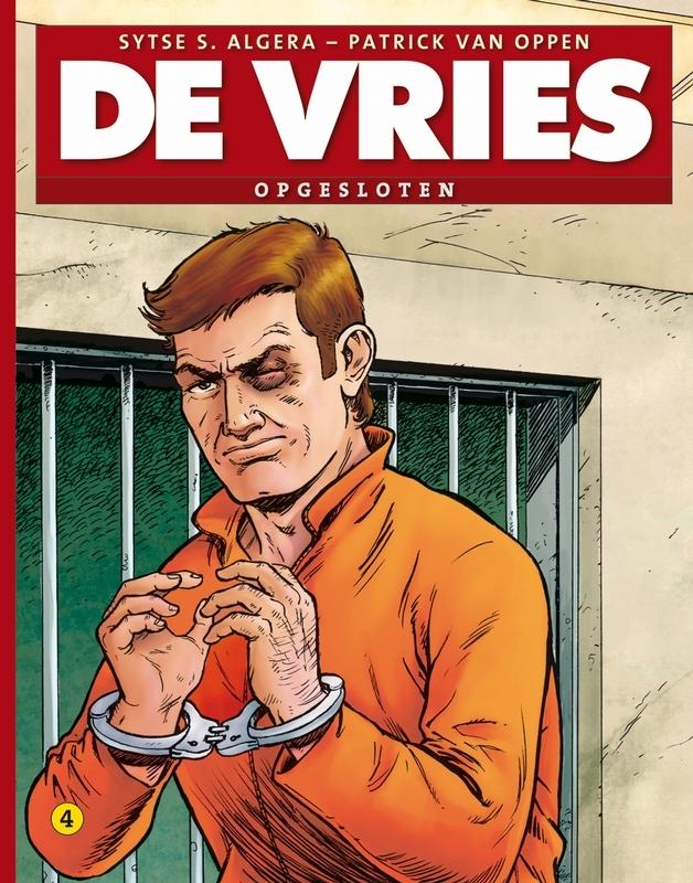 DE VRIES 04. OPGESLOTEN DE VRIES, Algera, Sytse S., Paperback