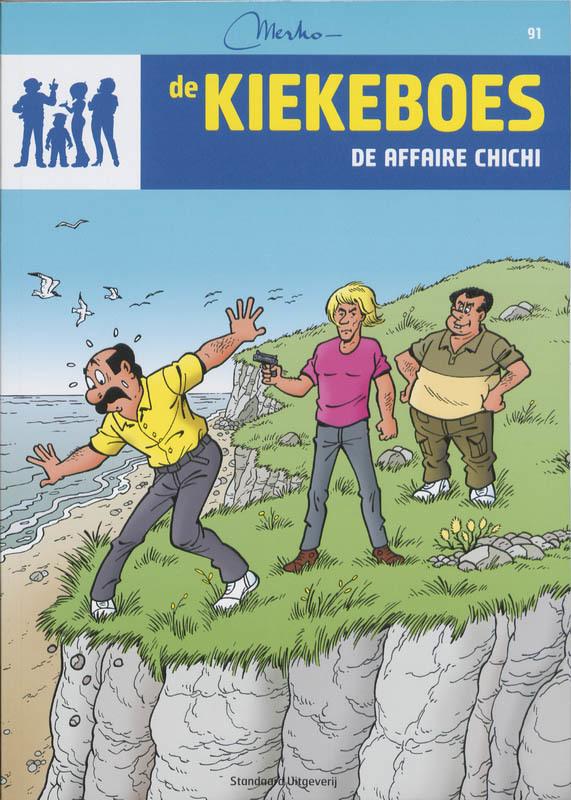 De affaire chichi De Kiekeboes, Merho, Paperback
