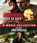 Jack Reacher 1 & 2 , (Blu-Ray)