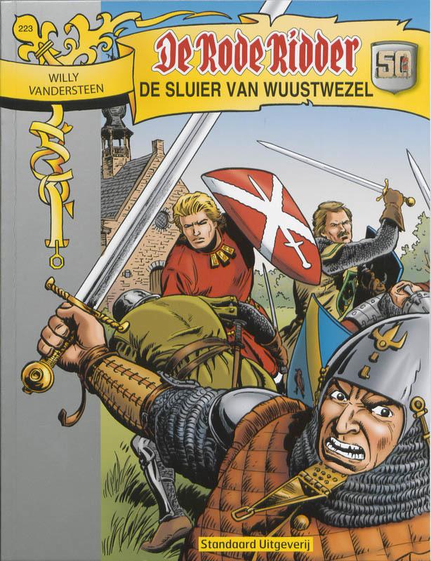 De sluier van Wuustwezel De Rode Ridder, Willy Vandersteen, Paperback