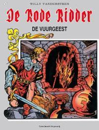 De vuurgeest De Rode Ridder, Willy Vandersteen, Paperback