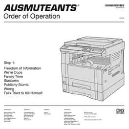 ORDER OF OPERATION AUSMUTEANTS, CD