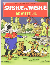SUSKE EN WISKE 134. DE WITTE UIL (NIEUWE COVER)