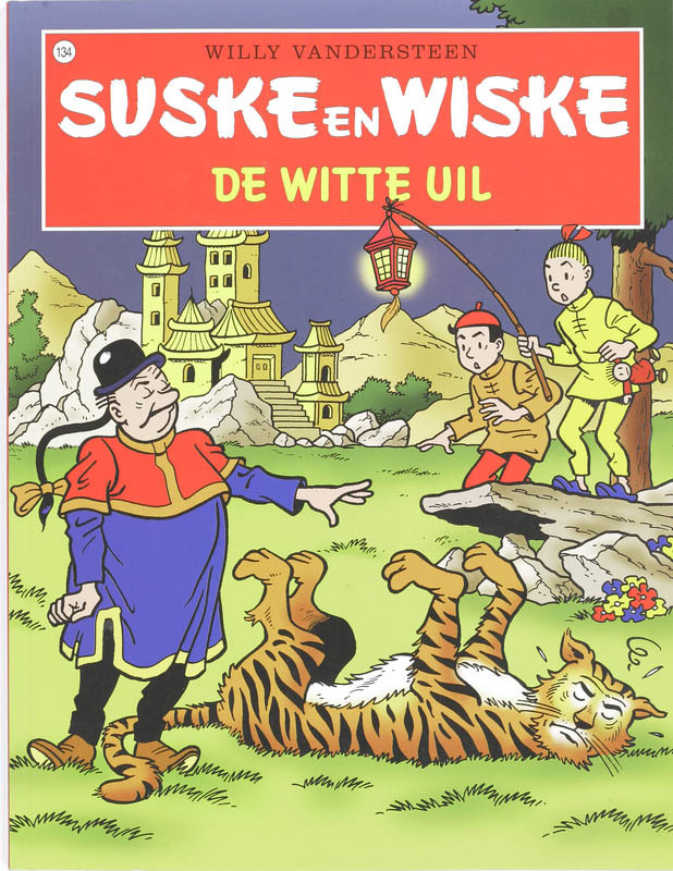 SUSKE EN WISKE 134. DE WITTE UIL (NIEUWE COVER) Suske en Wiske, Willy Vandersteen, Paperback