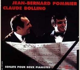 SONATE POUR DEUX PIANISTS JEAN-BERNARD POMMIER CLAUDE BOLLING, CD
