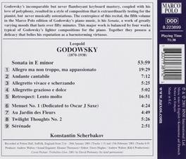 PIANO MUSIC VOL.5 W/KONSTANTIN SCHERBAKOV-PIANO L. GODOWSKY, CD