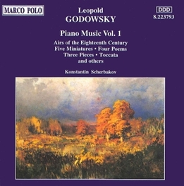 AIRS OF THE 18TH CENTURY -PIANO:KONSTANTIN SCHERBEEK L. GODOWSKY, CD