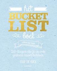 Het Bucketlist boek voor op...