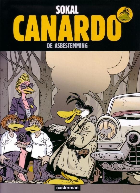 INSPECTEUR CANARDO HC19. DE ASBESTEMMING INSPECTEUR CANARDO, Sokal, Hardcover