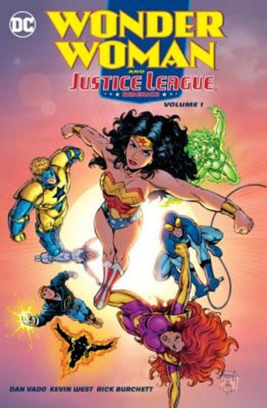 Wonder Woman and the Justice League America 1 Dan Vado, Paperback