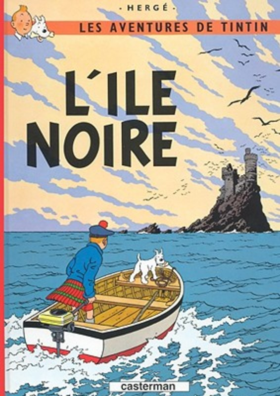 L'Ile Noir * Land of the Black Gold TINTIN, Herge, Hardcover