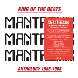 KING OF THE BEATS:.. .. ANTHOLOGY 1985-1988//GREAT EARLY WORKS COMPILATION MANTRONIX, CD
