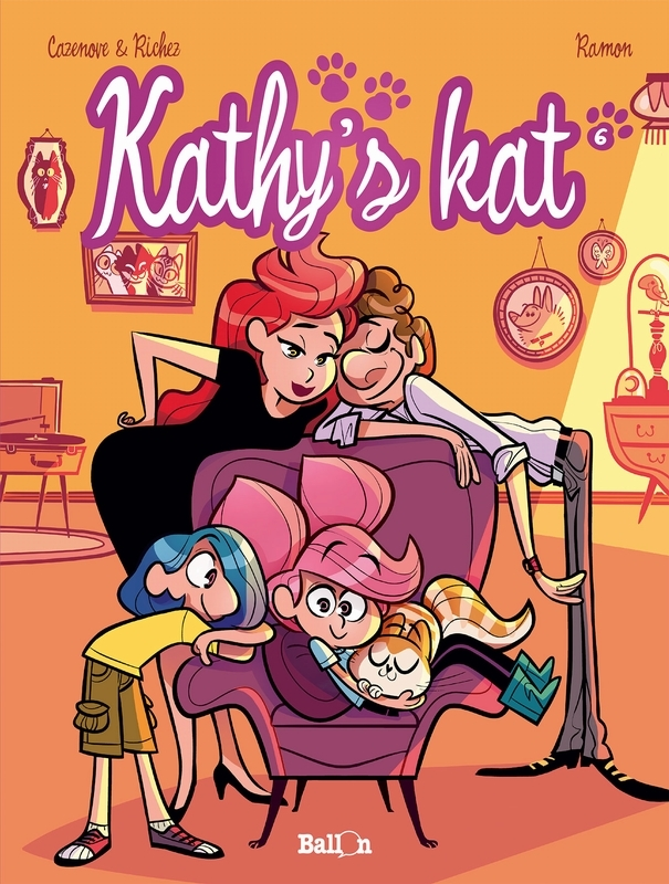 KATHY'S KAT 06. DEEL 6 KATHY'S KAT, Cazenove, Christophe, Paperback