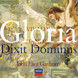 GLORIA/DIXIT DOMINUS ENGLISH BAROQUE SOLOISTS/JOHN ELIOT GARDINER Audio CD, VIVALDI/HANDEL, CD