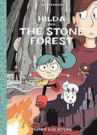Hilda en het woud van steen Hilda, Pearson, Luke, Hardcover