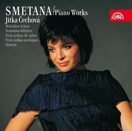 PIANO WORKS IV CECHOVA, JITKA Audio CD, B. SMETANA, CD