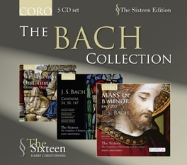 BACH COLLECTION THE SIXTEEN//CHRISTOPHERS, H. Audio CD, J.S. BACH, CD