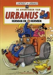 URBANUS 104. HERMAN EN HERMIEN De avonturen van Urbanus, Willy Linthout, Paperback