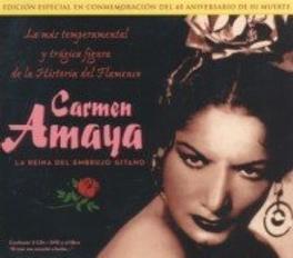 LA REINA DEL.. -CD+DVD- .. EMBRUJO GITANO *2CD+DVD* CARMEN AMAYA, CD